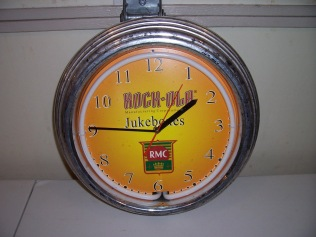 Rock-Ola Clock